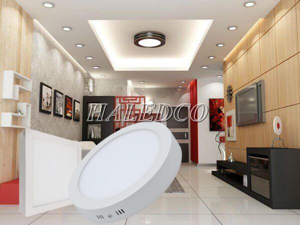Đèn LED ốp trần tròn thay thế hoàn hảo dòng đèn truyền thống