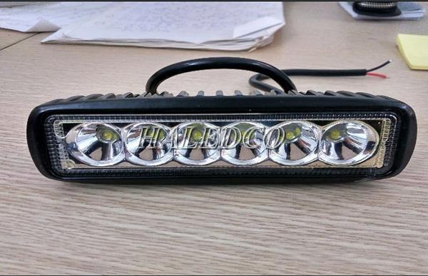 Đèn LED trợ sáng 6 bóng siêu sáng cho xe máy