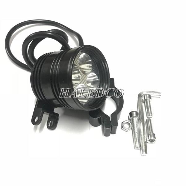 Đèn pha LED trợ sáng L4 sử dụng 4 chip LED