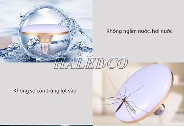 Khả năng chống nước, chống bụi bẩn, côn trùng cao