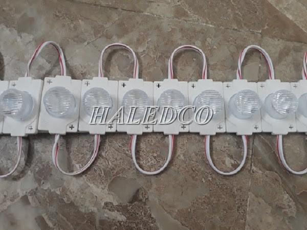 Dây đèn LED hắt 12V 1 bóng đế chữ nhật