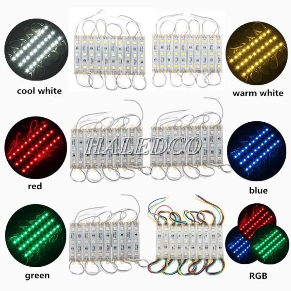Đèn LED hắt 3 mắt 5054 đa dạng màu sắc ánh sáng