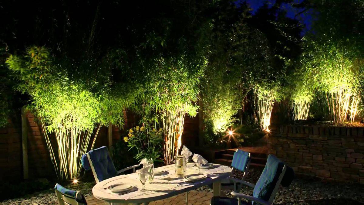 Đèn pha LED 10w chiếu sáng lối đi sân vườn