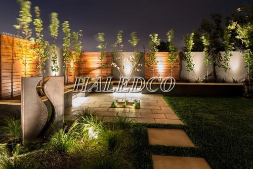 Đèn pha LED 20w chiếu sáng sân vườn