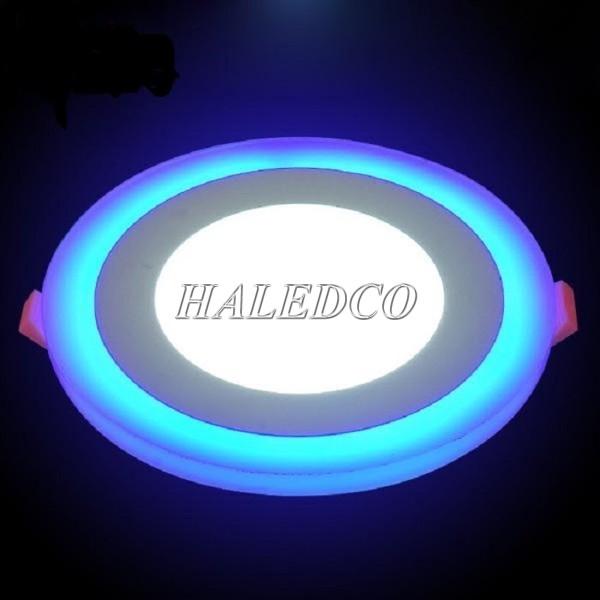 Đèn LED âm trần xanh 12w tỏa ít nhiệt