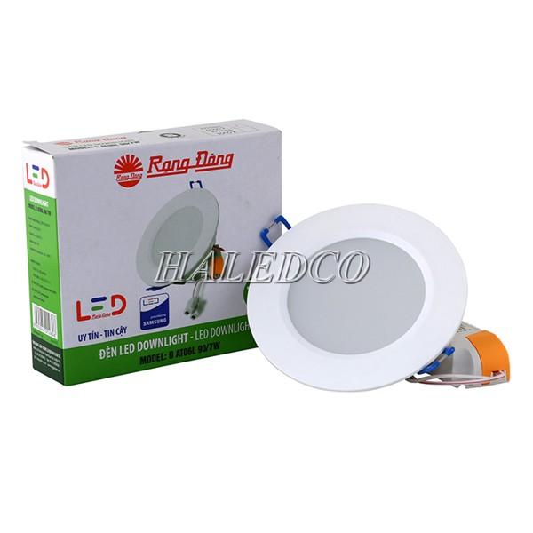 Đèn LED âm trần Đà Nẵng thương hiệu Rạng Đông