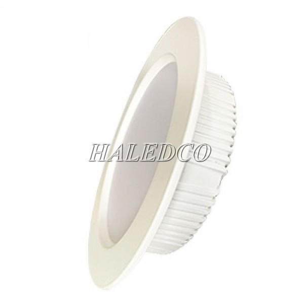 Vỏ đèn màu trắng sơn tĩnh điện