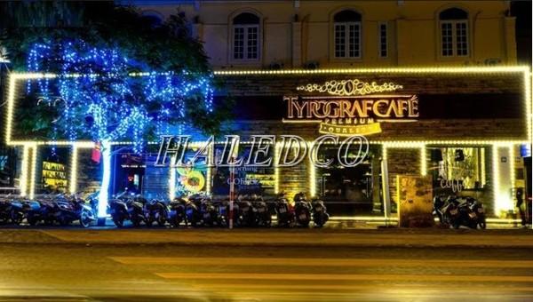 LED siêu sáng chiếu sáng biển quảng cáo, trang trí cây
