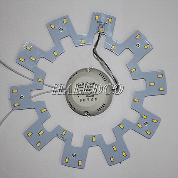 Dòng đèn này thích hợp lắp đặt trong các loại đèn ốp trần