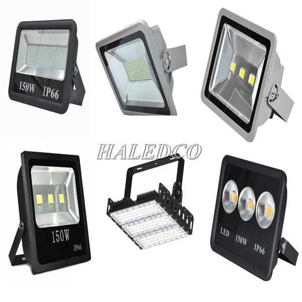 Đèn pha LED ngoài trời 150w thiết kế đa dạng mẫu mã kiểu dáng
