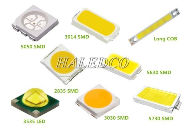 6 loại linh kiện đèn LED siêu sáng phổ biến nhất