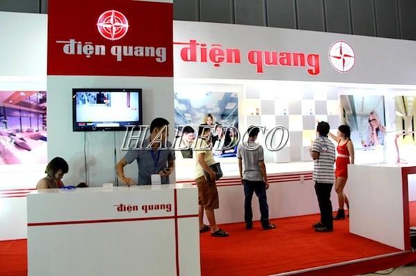 Showroom của nhãn hàng Điện Quang