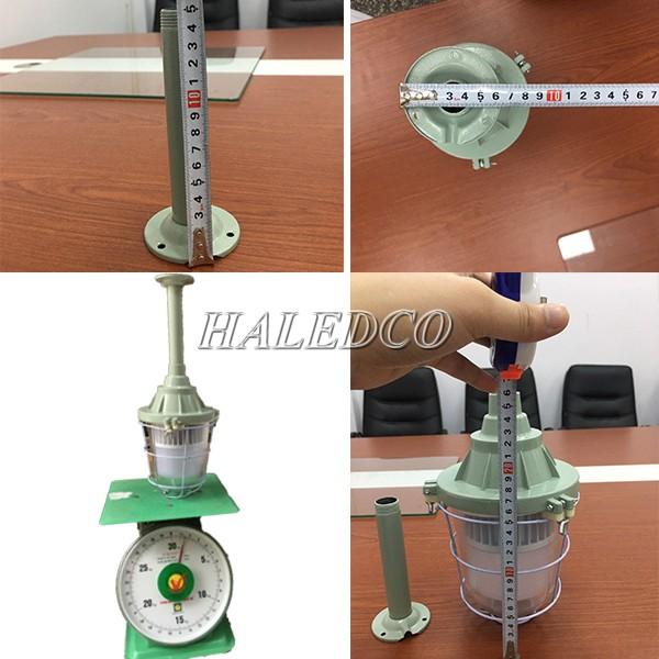 Kích thước cân nặng của đèn led chống cháy nổ HLEP VOP1-50