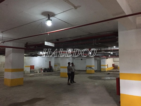 Ứng dụng của đèn led chống cháy nổ HLVOCN-10w