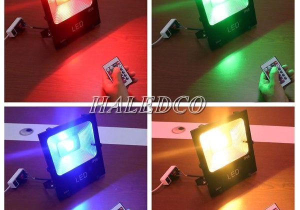 4+ đèn pha LED đổi màu 20w RGB HOT nhất 2021