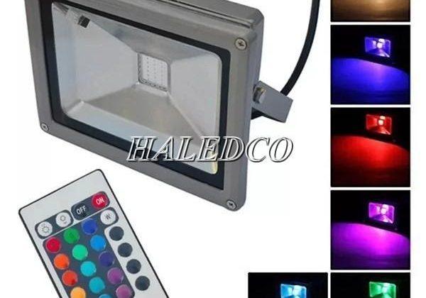9+ mẫu đèn pha led đổi màu 100w RGB Giá Rẻ 2021