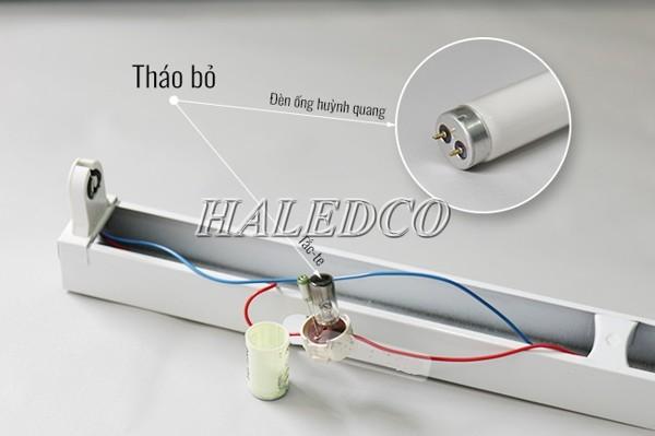 3 cách thay bóng đèn tuýp LED đơn giản tại nhà