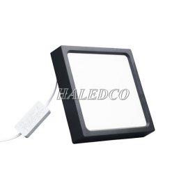Đèn LED ốp trần vuông viền đen HLOV2-18