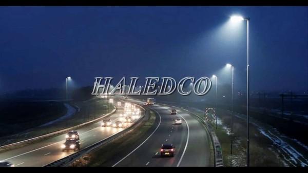 Đèn đường LED HLS24-300 chiếu sáng đường cao tốc