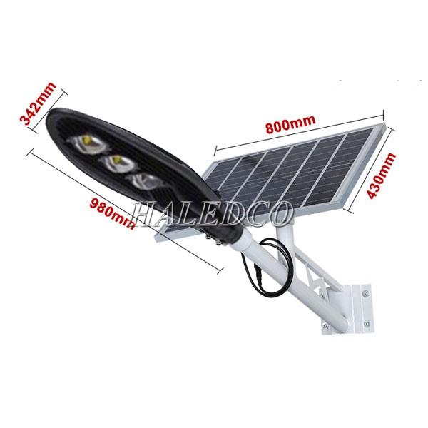 Đèn LED đường năng lượng mặt trời 150w HLSNLMT3-150