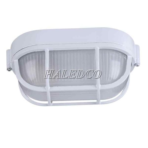 Đèn LED ốp tường chống cháy nổ HLEP OP1-30 được bảo vệ bằng chụp đèn và khung thép