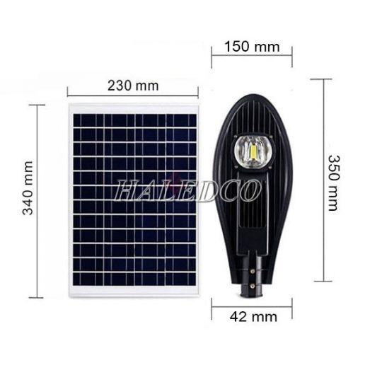 Đèn đường năng lượng mặt trời HLMTS7-30