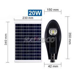 Đèn đường năng lượng mặt trời HLMTS7-20