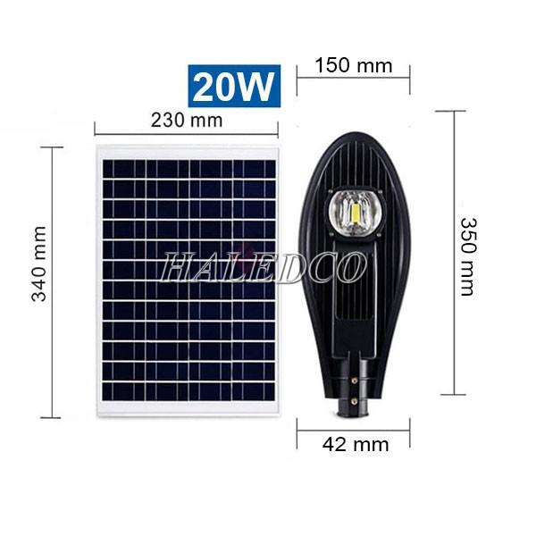 Thiết kế tâm pin đường năng lượng mặt trời HLMTS7-20