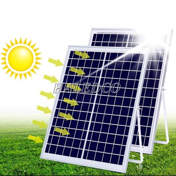 Thiết kế tấm pin đèn đường năng lượng mặt trời 150w HLSNLMT3-150