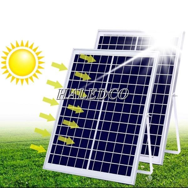 Thiết kế tấm pin đèn năng lượng mặt trời 150w