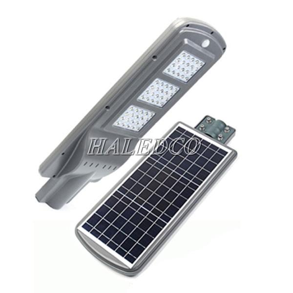 Thiết kế tấm pin liền kề đèn đường HLMTS10-60