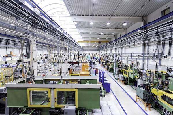 LED nhà xưởng HLHB7-150 chiếu sáng nhà máy