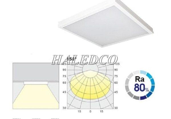TOP 5 đèn LED panel 600×600 lắp nổi giá rẻ – chất lượng