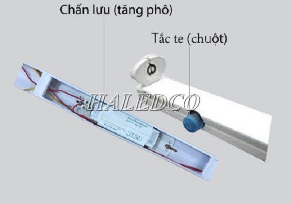 Cấu tạo máng đèn huỳnh quang. 6 thông tin quan trọng