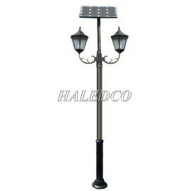 Cột đèn sân vườn năng lượng mặt trời HLMTCD1-24