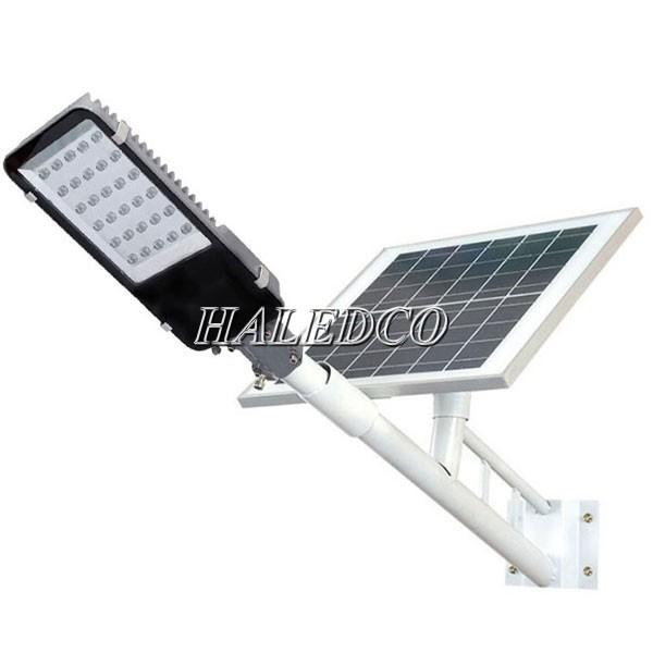 Kiểu dáng đèn đường năng lượng mặt trời 20w pin rời