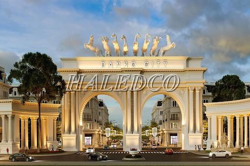 Dự án cấp đèn chiếu sáng KĐT Danko City Thái Nguyên cho công ty Trường Thành