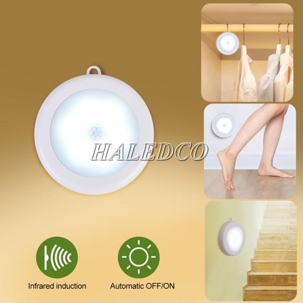 Đèn LED chân cầu thang cảm biến mẫu 4