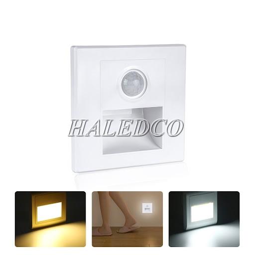 Đèn LED chân cầu thang cảm biến mẫu 1