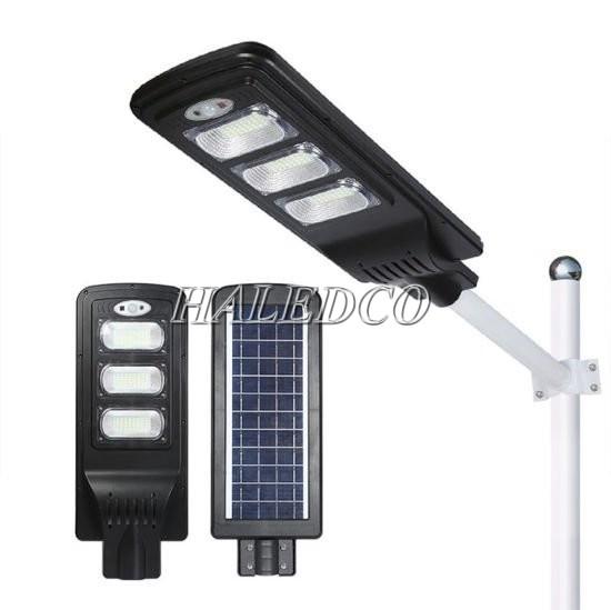 Kiểu dáng đèn đường năng lượng mặt trời liền thể