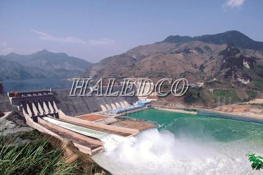 HALEDCO cấp đèn chiếu sáng thuỷ điện Mường Thanh – Sơn La